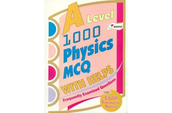Redspot GCE A Level 1000 Physics MCQ with HELPs